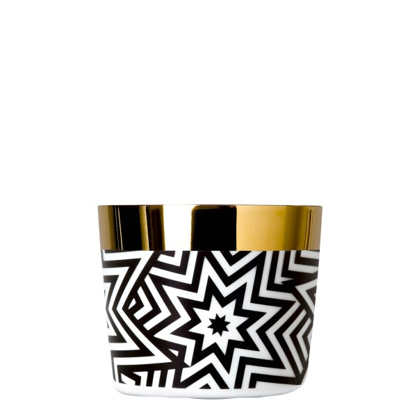 Sip of Gold Champagnerbecher Black & White Stars