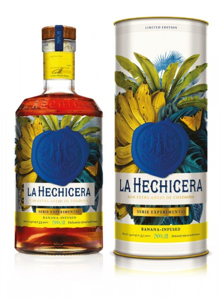 La Hechicera Rum Serie Experimental No. 2 Banana Infused