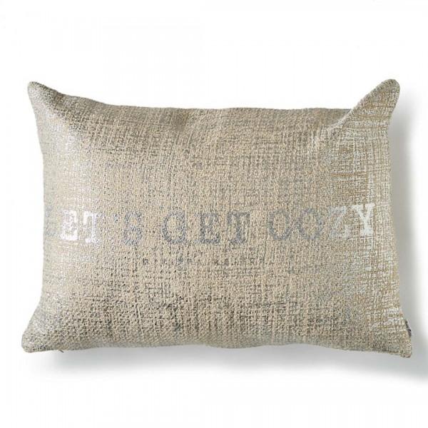 """""""Let's Get Cozy"""" Kissenbezug 65 x 45 cm"""