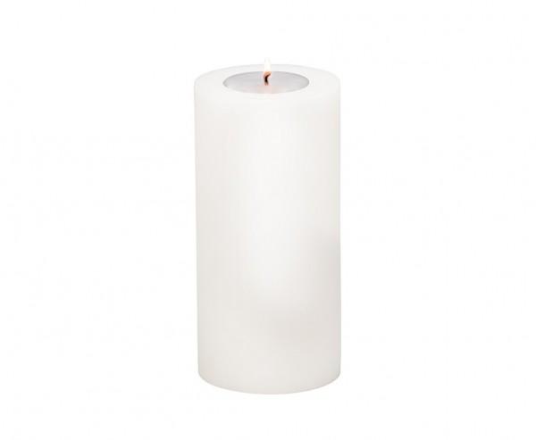 Teelichthalter Cornelius, für Maxi-Teelicht, Höhe 21 cm, Ø 10 cm, hitzebeständig 90°