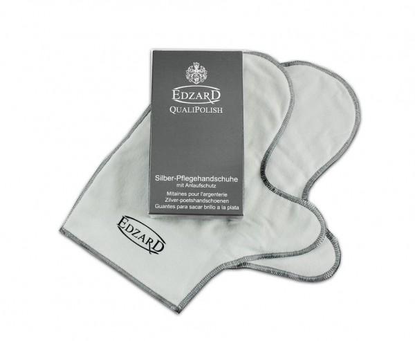QualiPolish® Silber-Pflegehandschuhe Silberhandschuhe (Paar)