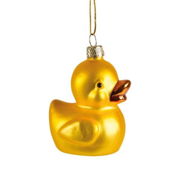Lucky Ducky Hanging Ornament