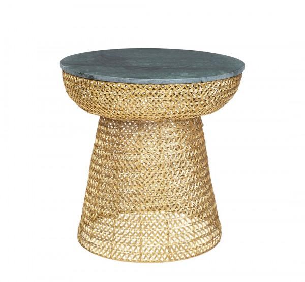 Gauri Gold Beistelltisch