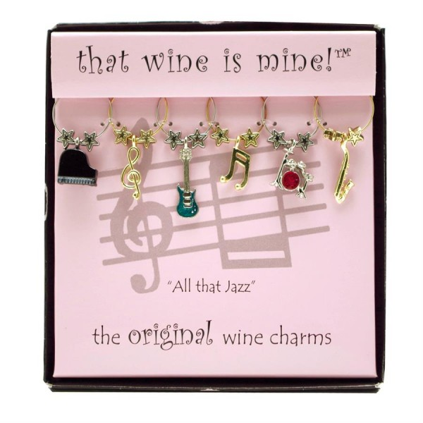 That Wine is Mine All That Jazz Wine Charms