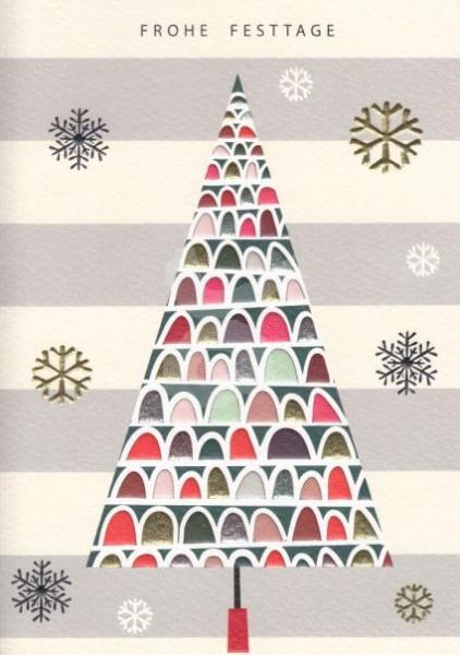 Frohe Festtage (Weihnachtsbaum 2)