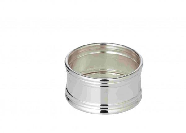 Serviettenring Inglese, rund, Ø 4,5 cm, Echtsilber 925/000, Silbergewicht 26 Gramm