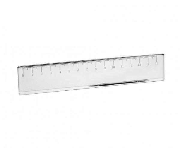 Lineal Lesezeichen Carlotta, edel versilbert, anlaufgeschützt, Länge 16 cm