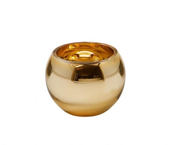 Windlicht Goldrim H 7cm