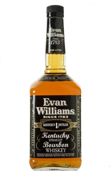 Evan Williams Black Kentucky Bourbon Whiskey