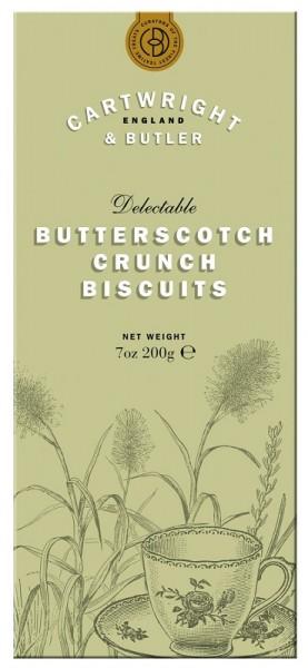 Cartwright & Butler Butterscotch Crunch Biscuits