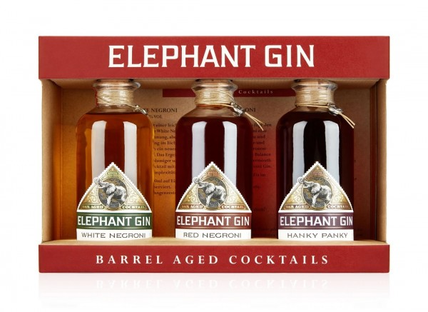Elephant Gin Barrel Aged Cocktail Set