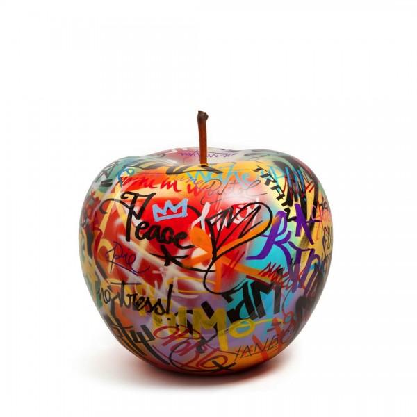 Bull & Stein Graffiti Apple