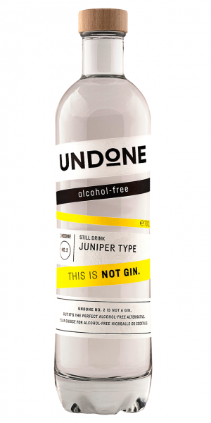 Undone No. 2 Juniper Type Alkoholfreie Alternative zu Gin