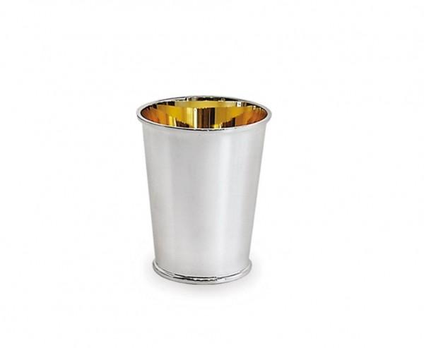 Silberbecher Konus, Echtsilber 925/000, innenvergoldet, Höhe 9 cm, Silbergewicht 88 Gramm