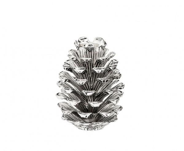 Leuchter Zapfen H 9 cm
