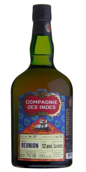 Compagnie des Indes Réunion 12 Jahre Cask Strength Rum