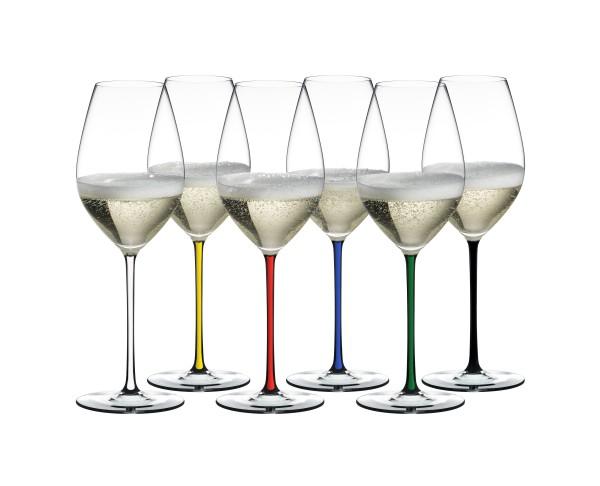 Riedel Fatto a Mano Champagner/Weinglas Set